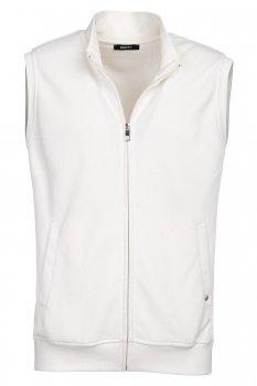 Slim body White Plain Waistcoat