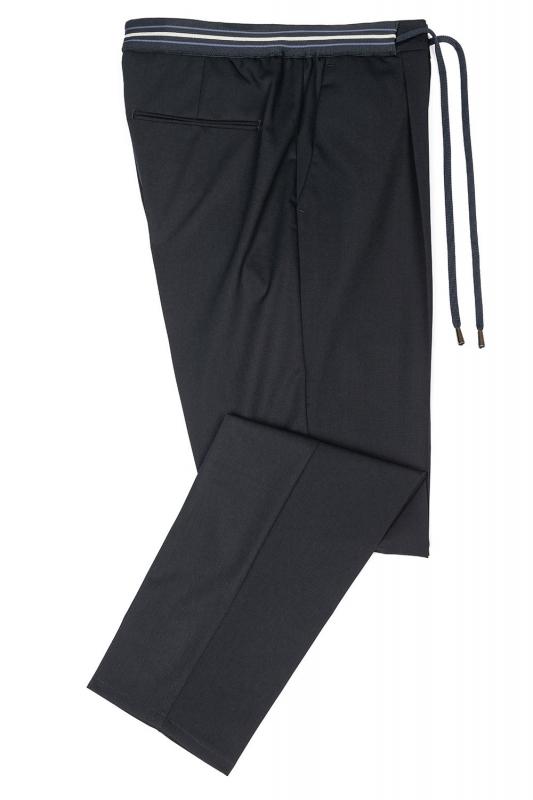 Pantaloni Bleumarin uni