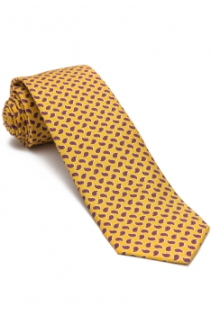 Yellow Floral Tie