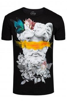 Tricou Negru print