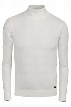 Slim body White Sweater