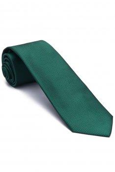 Cravata verde uni