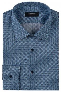 Camasi Shaped Bleu print Floral