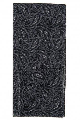 Esarfa neagra print floral