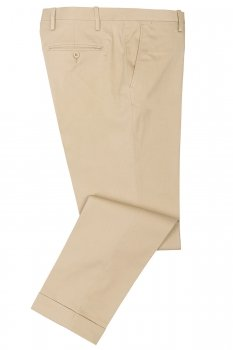 Pantaloni slim bej uni