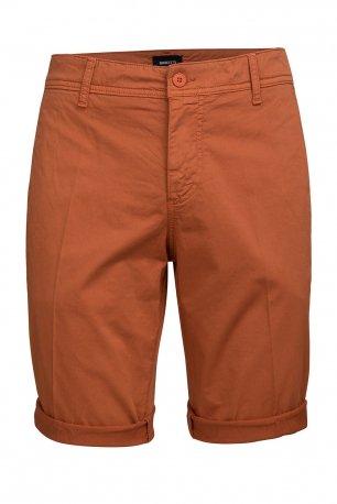 Pantaloni scurti caramizii uni