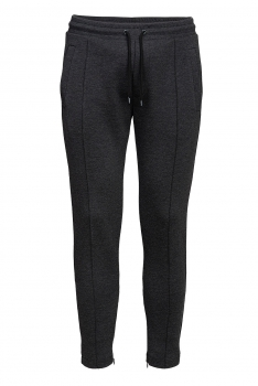 Slim body Grey Plain Trouser