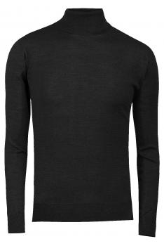 Slim body Black Sweater