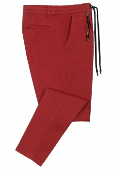 Baggy Red Plain Trouser
