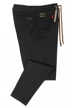 Baggy Black Plain Trouser