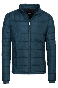 Blue Plain Jacket