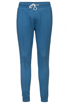 Slim body Blue Plain Trouser