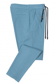Baggy Light blue Plain Trouser