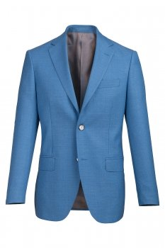 Sacou Slim Conti Bleu Uni
