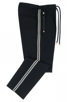 Slim body Navy Plain Trouser