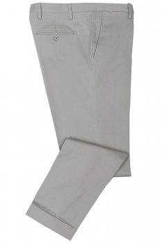 Pantaloni slim gri uni
