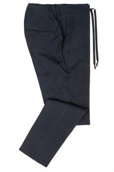 Pantaloni slim Negri Uni