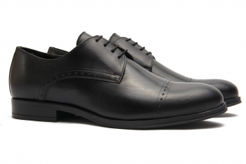 Black Genuine leather Shoes