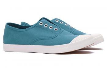 Blue Cotton Shoes