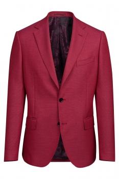 Slim body Pink Geometric Blazer