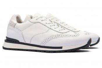 Sneakers Albi Piele naturala