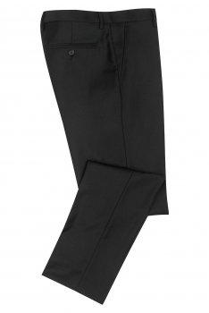 Pantaloni conti slim negri uni