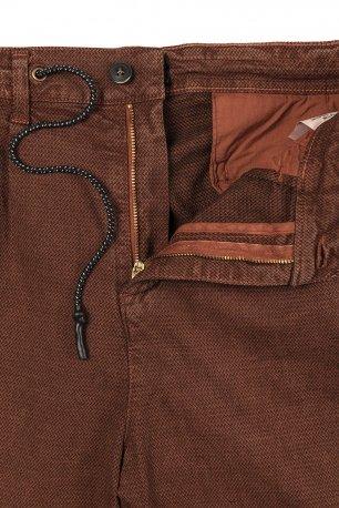 Pantaloni caramizii uni
