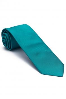Blue Plain Tie