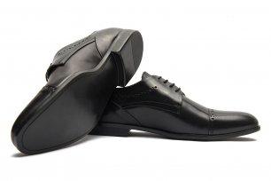 Pantofi negri piele naturala