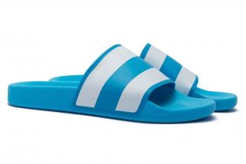 Papuci Multicolori cu dungi