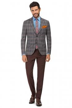 Burgundy Plain Trouser