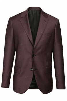 Slim body Purple Plain Blazer