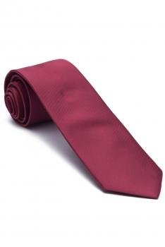 Pink Plain Tie