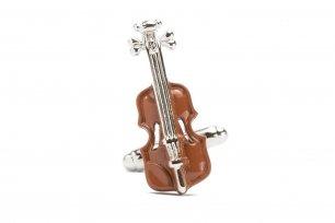 Butoni argintii instrumente muzicale