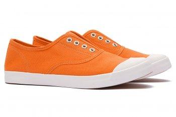 Sneakers Oranj din Bumbac