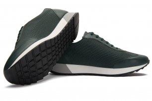 Sneakers verzi piele naturala