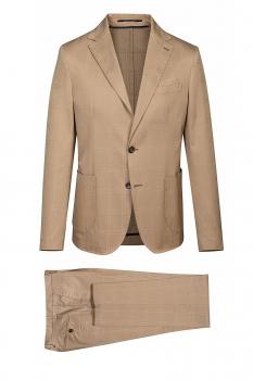 Slim body Beige Carouri Suit