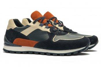 Sneakers Bleumarin Piele naturala