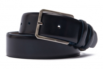 Belt Navy Genuine leather