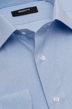 Camasa slim STRETCH bleu in carouri