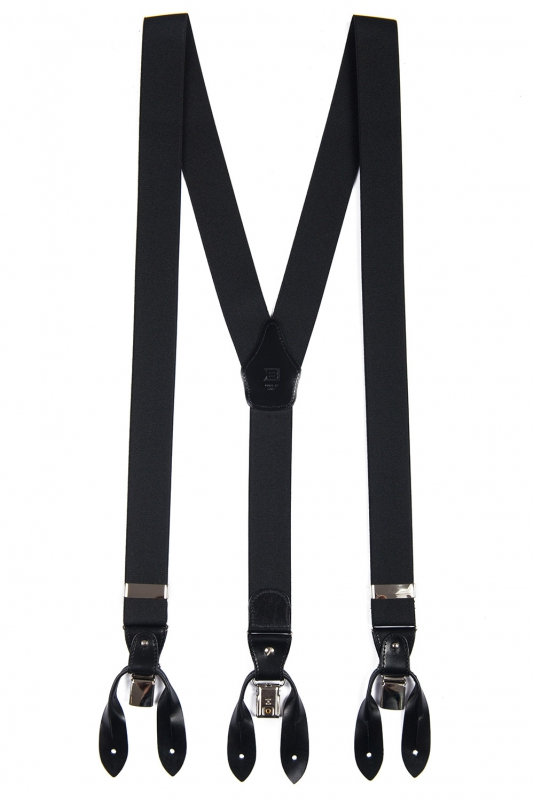 Bretele negre uni