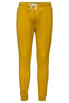 Slim body Yellow Plain Trouser