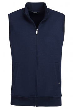 Slim body Navy Plain Waistcoat