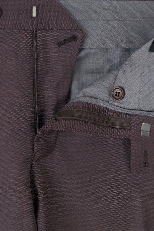 Pantaloni Conti Grena Uni