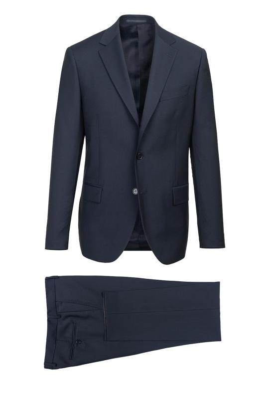 Costum Slim Conti Bleumarin