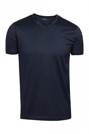 Tricou slim evening Bleumarin