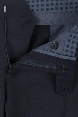 Pantaloni  superslim fabian bleumarin
