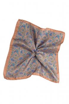 Beige Pocket square