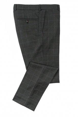 Pantaloni superslim fabian gri carouri