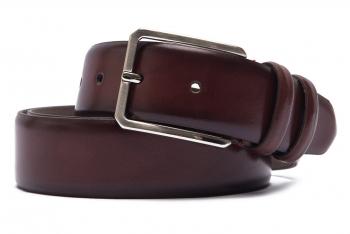 Belt Burgundy Genuine leather